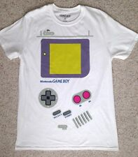 New Mens(Adult Med) GAME BOY FULL FRONT LOGO T-SHIRT Video Game Gameboy Costume