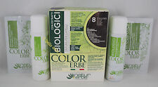 Area Color Hair Dyeing biotinta herbs organic 60ml Color 8 chocolate