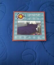 2 pc All Star Sports Royal Blue Twin Quilt and Sham Set NIP