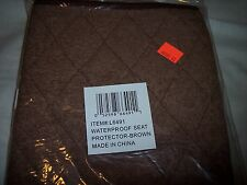 "Waterproof Seat Protector, Chair, Car Seats & Wheelchair  Brown , 21"" x 20"""