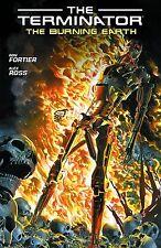TERMINATOR: THE BURNING EARTH TPB Ron Fortier Dark Horse Comics TP Alex Ross
