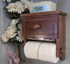 RM504 Two Roll Toilet Paper Holder with storage cabinet & shelf JLJ  Original
