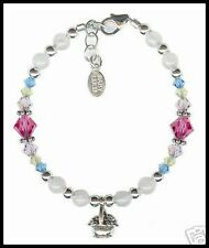Baby Lulu Apple Blossom Bracelet 6 in 6 7 8 9 10 NEW