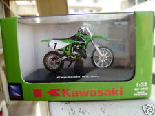 NEW RAY 2003 KAWASAKI KX 250 1:32 GREEN MIB MOTORCYCLE!