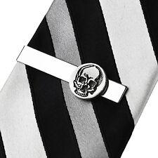 Skull Tie Clip - Unusual Tie Bars - Business Gift - Handmade - Gift Box