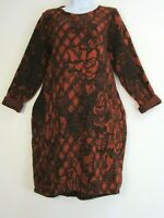Lagenlook Italian Dress Long Sleeve Pockets 7 Colours One Size: Regular:12-16