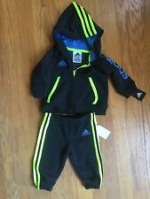 Adidas Infant Boys 3m Zip Up Hoodie &Jogger 3 NWT Free Shipping