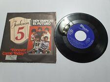 "Jackson 5 Forever came today/Hoy empezo el futuro Vinilo Lp de 7"" Made in Spain"