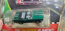 Rare Model Motoring Candy Painted GREEN / SILVER STRIPES MUSTANG CONVERT Aurora