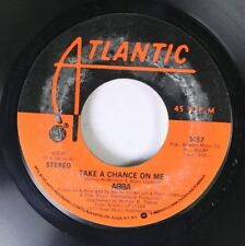 Rock 45 Abba - Take A Chance On Me / I'M A Marionette On Atlantic