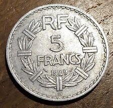 PIECE DE 5 FRANCS LAVRILLIER 1949 B (118)