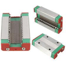 Steel MGN12H Linear Sliding Block 4.3x2.6x1cm for MGN12 Linear Guide CNC XYZ DIY
