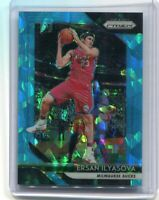 2018-19 Panini Prizm Ersan Ilyasova light blue cracked ice prizm #34/99 Bucks