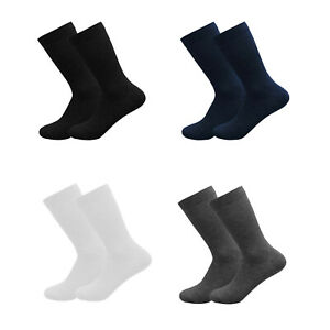 Girls Boys Plain Socks Ankle High Lycra Cotton Rich School Uniform 3 6 Pairs