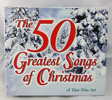 1997 The 50 Greatest Songs Of Christmas Two Disc Set Holiday CDs Music