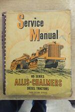 allis chalmers hd 7 10 14 diesel crawler tractor service manual 1946 vintage