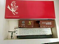 HO scale Robins Rails  Santa Fe  50 ft single door box car  ATSF 12605