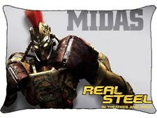 New Real Steel MIDAS Pillow Case Bedroom Decor Gift
