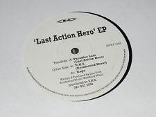 "Doc Scott – Last Action Hero EP NEW 12"" 1994 USED Reinforced Records RIVET 1256"