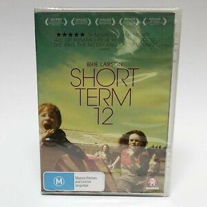 DVD SEALED Short Term 12 Brie Larson   Rami Malek - 2013