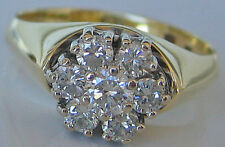 Kostbar★ G VVS Diamant Ring ★1,05 Ct Brillant Ring in aus 585 Gold mit Diamanten