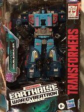 Transformers ~ War For Cybertron ~ Earthrise ~ DOUBLEDEALER ~ Leader Class NEW