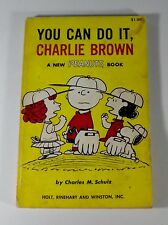 YOU CAN DO IT, CHARLIE BROWN Charles M Schulz 1st Edition 1963 Peanuts Classic