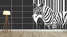 ZEBRE ZEBRA STYLE STRIPES RAYURES Giant Poster Home Deco Salon 252cmX150