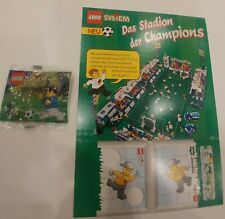 LEGO Soccer Football Set 3324 Player and Ball Polybag + Cardboard + Stickers
