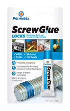 Permatex  Screw Glue  Medium Strength  Adhesive  0.2 oz.