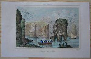 1840 print CLIFFS ON FAROE ISLANDS (#27)