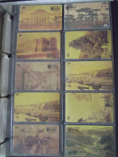 BRAZILIAN PHOTOGRAPH 19 CENT. Complete Set 10 Different Phone Cards from Brazil