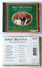 THE PAT BOONE FAMILY CHRISTMAS .. German 1994 CD OVP/SEALED