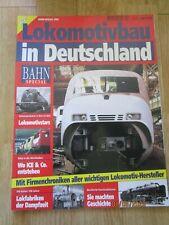 Bahn Special Lokomotivbau in Deutschland