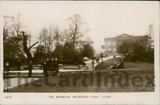 ROUNDHAY Roundhay Park - The Mansion Postcard nr Leeds YORKSHIRE Kingsway