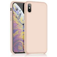 iPhone X Xs Siliconen Hoesje Cover Case Roze