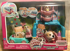 Chubby Puppies & Friends Vacation Camper Playset Jack Russell Terrier