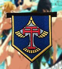 Free! Iwatobi Cosplay Anime Embroidered Iron-on Patch/ Badge School Uniform Free