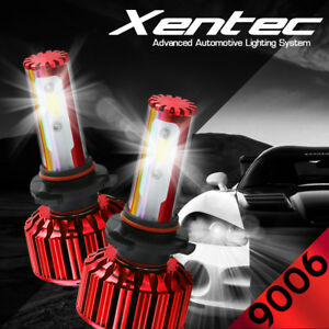 XENTEC LED HID Headlight kit 9006 White for 1987-2005 Cadillac DeVille