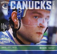 Vancouver Canucks 3/29/14 vs Anaheim Ducks - NHL Hockey gameday program