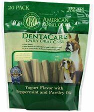 New listing American Kennel Club 20 Count Yogurt-Peppermint-Parsley DentaCare Dog Treats, Ne