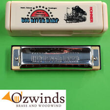 Big River Harp by Hohner - KEY of A Harmonica