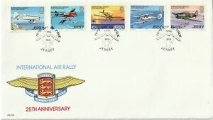 1979 Jersey FDC cover 25th Anniversary International Air Rally