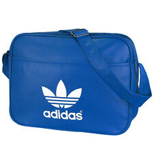 ADIDAS AIRLINER CLASSIC BAG BLUEBIRD WHITE SHOULDER BAG AB2708