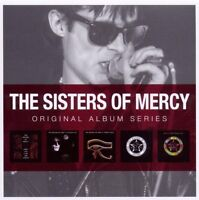 "SISTERS OF MERCY ""ORIGINAL ALBUM SERIES"" 5 CD NEU"