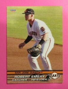 2021 Choice, San Jose Giants - ROBERT EMERY