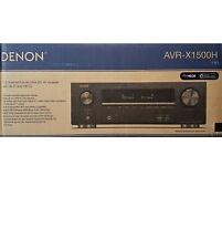 Denon AVR-X1500H 7.2 ATMOS DTS:X AV-Receiver Bluetooth