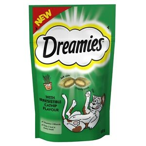 Dreamies Cat Treats Catnip Flavour 60g
