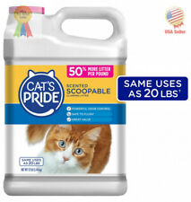 Cats Pride Cat Litter Scoopable Scented Lightweight Clumping Litter Flushable.