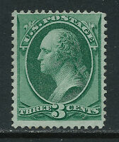 SCOTT 184 1879 3 CENT WASHINGTON REGULAR ISSUE MNH OG F-VF CAT $150!